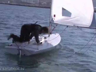 How to Sail: Single Handed Capsize: Part 2 of 3: Righting The Boat