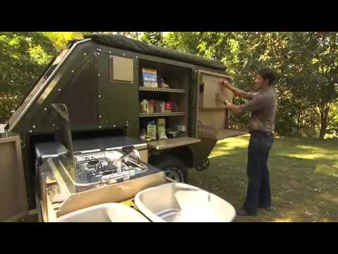 Military Tent Trailer Amp Built With A Suspension System